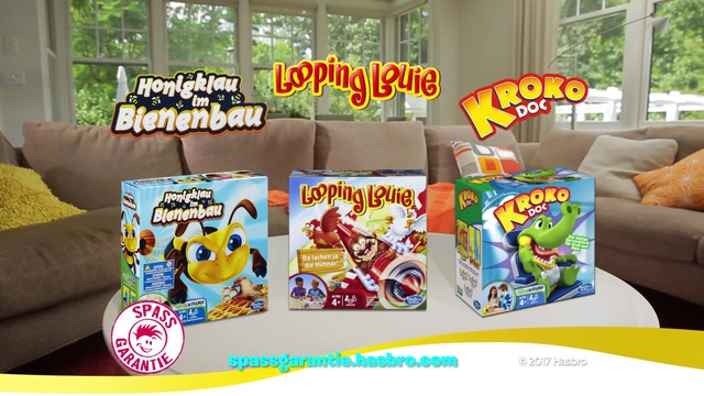 Hasbro Gaming - Honigklau im Bienenbau / Looping Louie / Kroko Doc Video 7
