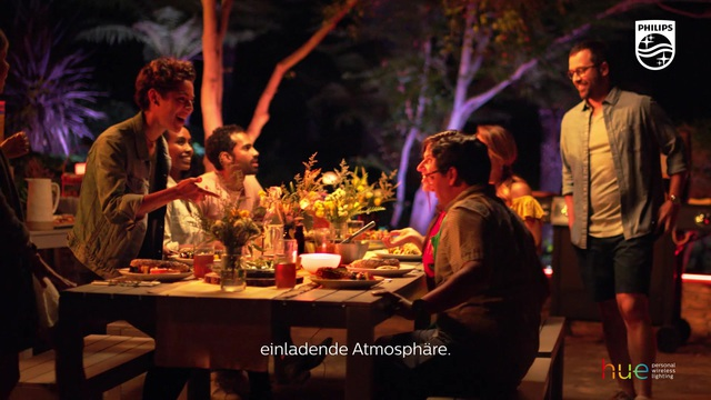 Philips - Hue - Gartenparty Video 3