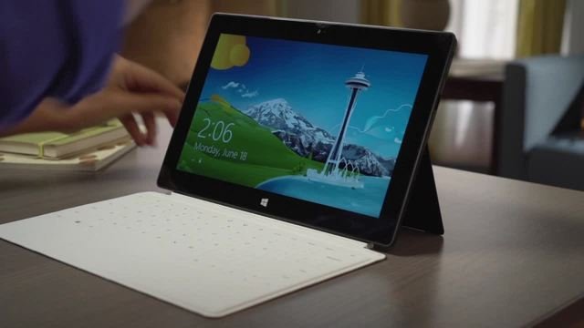 Surface Touch & Type Cover Video 3