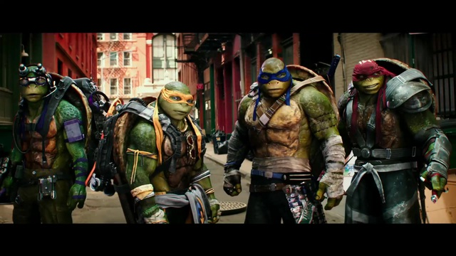 Teenage Mutant Ninja Turtles - out of the Shadows Video 2