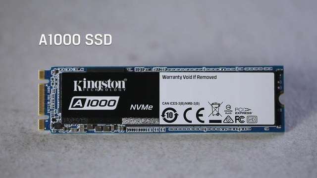 Kingston - A1000 SSD Video 2