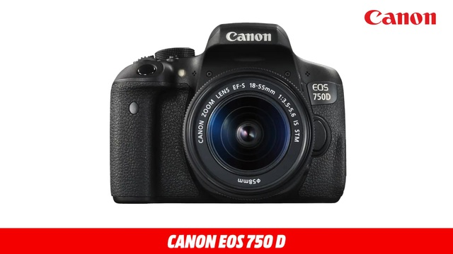 EOS 750 D + 18-55MM IS STM Video 3