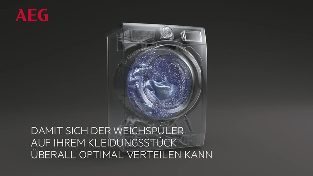 AEG - Waschmaschinen mit SoftPlus Technologie Video 3