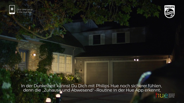"""Philips - Hue - """"zuhause & abwesend""""-Routine Video 15"""