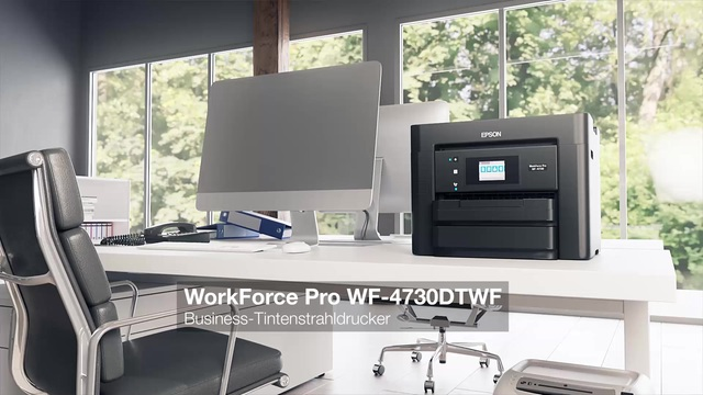 Epson - WorkForce Pro WF-4730DTWF Video 3