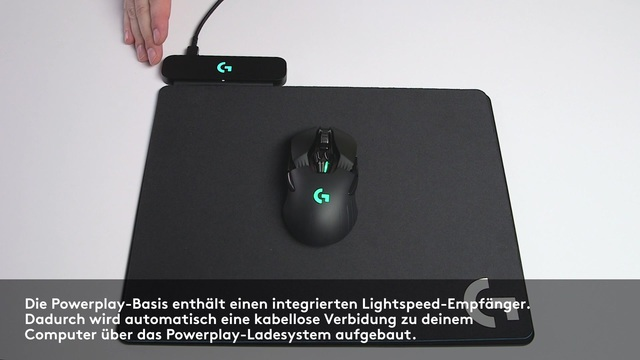 Logitech - Powerplay kabelloses Ladesystem Video 3