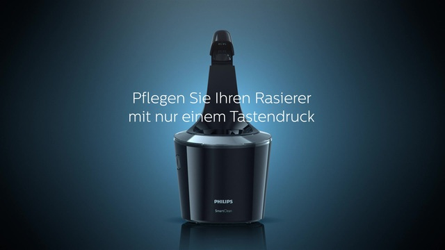 Philips Series 9000 Rasierer Animation SmartClean Video 19