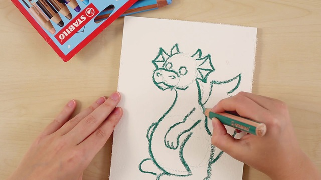 St_22892_How_to_draw_a_dragon_Teaser_video_STABILO_Tutorials Video 10