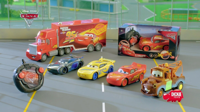 Disney Cars 3 Turbo Racer from Dickie Toys Video 6