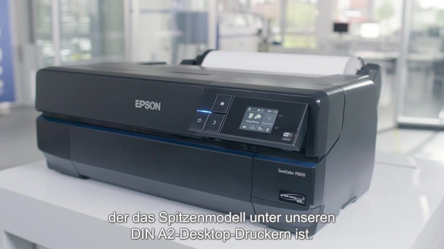Epson - SureColor SC-P800 Tutorial Video 3