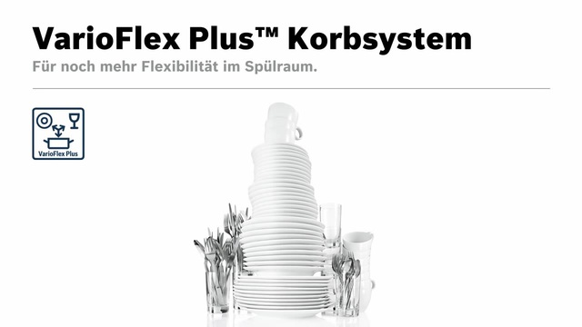 Bosch - VarioFlex Plus Korbsystem Video 8